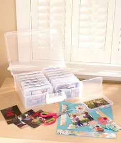 1,600-Photo Organizer Case is the perfect way to both organize and store those precious memories!