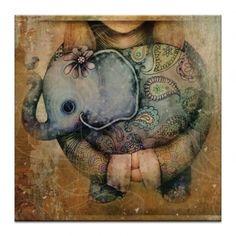 Paisley Elephant - Karin Taylor