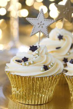 Pour le dessert de réveillon, des marquises avec plein d'étoiles : c'est bon, festif et gourmand