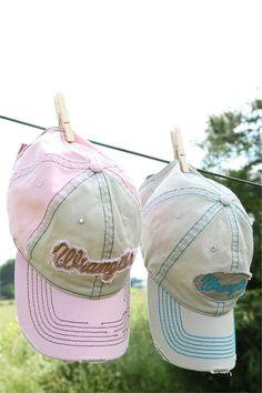 c3ecd323d44 Wrangler Womens Pink Or Blue Structured Ball Cap