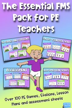 The Essential Fundamental Movement Skills Pack - Physical Education Grade Physical Education Activities, Elementary Physical Education, Elementary Pe, Pe Activities, Educational Activities, Classroom Activities, Pe Lesson Plans, Pe Lessons, Pe Teachers