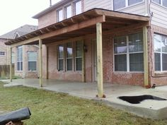 diy porch roof - Google Search