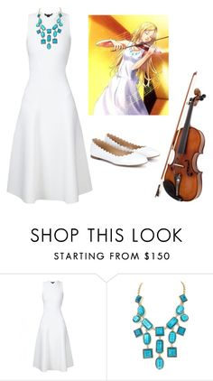 """""""Kaori Your Lie in April"""" by lauren-nicolec ❤ liked on Polyvore featuring Kate Spade and Chloé"""