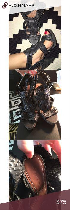 Selling this ALL SAINTS SPITALFIELDS HEELS/ Leather/ Euro 38 on Poshmark! My username is: gracejulietrose. #shopmycloset #poshmark #fashion #shopping #style #forsale #All Saints #Shoes