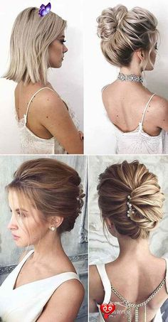 30 Gorgrous Wedding Hairstyles Ideas for Modern Bride - Elegantweddinginvites.com Blog  <br> A great hairstyle is the crowning glory to your personality. A wedding hairstyle holds much importance to enhance the overall beauty of the pretty bride.READ MORE Bride Hairstyles For Long Hair, Curls For Long Hair, Veil Hairstyles, Wedding Hairstyles, Classic Updo Hairstyles, Beautiful Hairstyles, Hair Updo, Hairstyle Ideas, Curly Hair