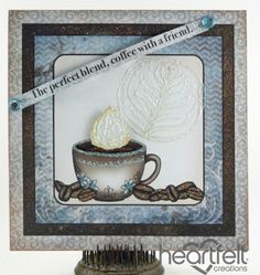 Heartfelt Creations | Coffee With A Friend Card