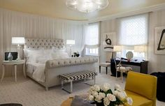 uccessfully Blended Modern and Vintage Style of Hollywood Bedroom