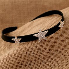 It's waiting for you. Crystal Gold Star... Hurry, it's selling fast! http://fanxyparadise.com/products/crystal-gold-stars-choker?utm_campaign=social_autopilot&utm_source=pin&utm_medium=pin #love #fashion