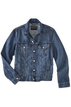 Authentic Denim Trucker — A classic, true-blue, relaxed denim jacket goes with everything and works just as well layered over a sundress as it does with a white oxford and — dare we suggest — a pair of jeans. This one is a men's style (though we like to think of it as unisex) for the oversized cool factor, but a shrunken one may suit you just as well.   Denizen Trucker Denim Jacket, $39.99, available at Target