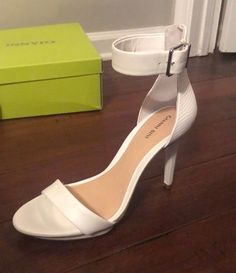 607e1d15d85a Gianni Bini Lizette Heels In Ivory Size 10 NWOB  fashion  clothing  shoes