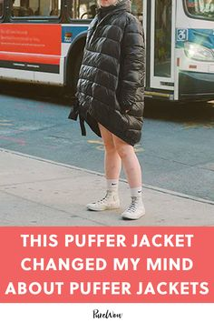 This Puffer Jacket Changed My Mind About Puffer Jackets Latest Winter Fashion, Chic Fall Fashion, Fall Fashion Trends, Latest Fashion For Women, Style Fashion, Puffer Jackets, Winter Jackets, Shearling Jacket, S Models