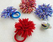 Fabric Flower Tutorial & Sewing PDF Patterns Soles por Soles