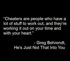Watch out for cheaters