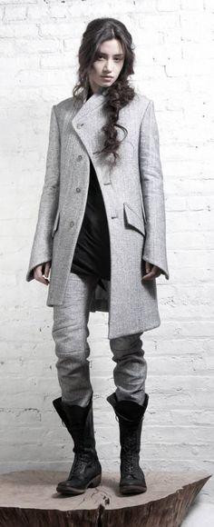Ashen Tundra....love this coat!