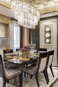 Interior design inspirations for your luxury dining room. Check more at http://luxxu.net