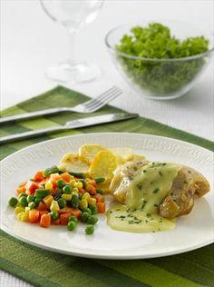 pollo marinado a la mostaza y limón