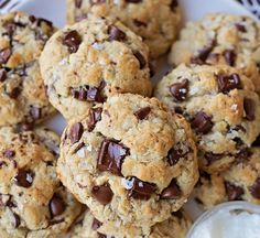 Bittersweet Chocolate Chip & Almond Cookies | People Magazine