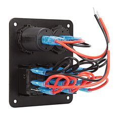 On/Off Switch & LED Rocker Switch Wiring Diagrams auto
