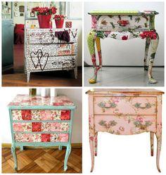 Além de ser uma atitude muito sustentável, saber como reaproveitar móveis antigos aguça a criatividade e deixa a decoração muito mais bela e diferenciada.