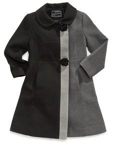 S. Rothschild Kids Coat, Girls Ruffle Coat | *For The Bug ...
