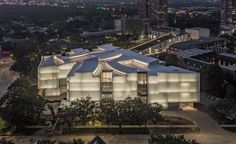 Steven Holl's Luminous Kinder Building at the Museum of Fine Arts, Houston | 2020-11-16 | Architectural Record