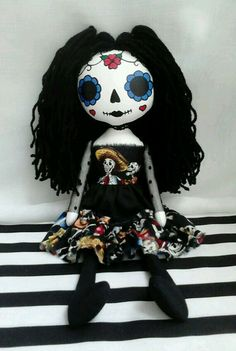 Day Of The Dead -Art Rag Doll(Marie)
