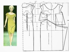 dresses (Chinese method of pattern making) - SSvetLanaV - Веб-альбомы Picasa