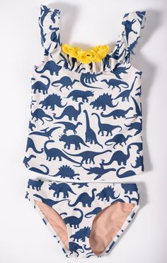 T-Rex Tankini {girl} Cloughley Basics Wise Vergara Eliana would love this! Little Girl Fashion, My Little Girl, Toddler Fashion, My Girl, Kids Fashion, Fashion Outfits, Cute Girl Outfits, Kids Outfits, Girl Dinosaur