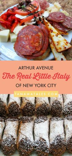 Surprise, surprise, the Real Little Italy of New York City is located in The Bronx. The Arthur Avenue area is the place to go for the best Italian food and specialties