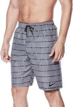 b226d1627b Nike Men's Echo Breaker Swim Trunks, Size: Small, Black Man Swimming,  Patterned