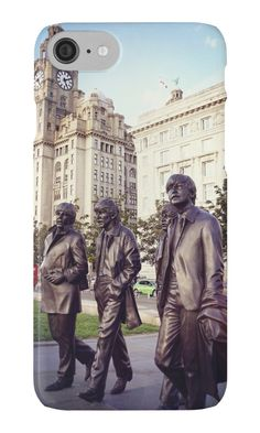 The Beatles photograph taken in Liverpool on iPhone cover and ipad cover, tshirts and sweatshirts by KCiPhoto