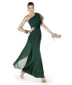 Pronovias te presenta su vestido de fiesta ABALORIO de la colección Fiesta 2015. | Trajes de novia y noche - www.anneveneth.com