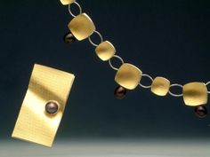 Clara Ines Arana, Necklace and brooch,