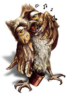 Morning. The Owl. Coffee. - Part 2 of 2 - Art by Alina Vial