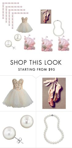 """""""Swan Lake"""" by jeanstapley ❤ liked on Polyvore featuring FairOnly, Free People and Blue Nile"""