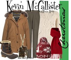 Inspired by McCauly Culkin as Kevin McCallister from the Home Alone film franchise.