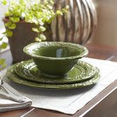 Found it at Wayfair - Jacqueline Dinnerware Set, Forest
