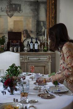 Arte del ricevere con Elle a Tavola