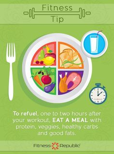 FR Fitness Tip: Refuel the muscles!