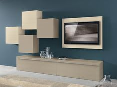 Modern Wall units and Entertainment centers for your modern living room from top Italian and European designers at closeout price. Tv Unit Furniture, Home Office Furniture, Living Room Tv, Living Room Modern, Modern Wall Units, Tv Unit Decor, Tv Unit Design, Dream Home Design, Modern Interior Design