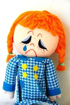 1960's Mod/Crying Smiling Doll