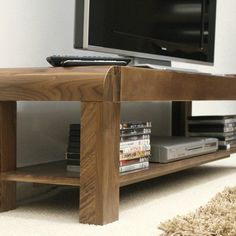 Shiro Solid Walnut Low TV Cabinet -  - TV Unit - Baumhaus - Space & Shape - 5