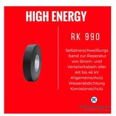 RK 990 - Selbstverschweißungsband #Krueckemeyer #Klebeband #Kleben #Adhesive #Tape #Elektro