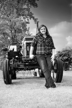 country girl senior picture