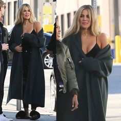Khloé at the Good American Factory in LA today.  #khloekardashian @khloekardashian