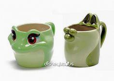 The Princess and the Frog Mugs :)
