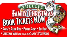 Lots of exciting things to see and do at Tulleys Farm.  Take a sleigh ride to see Santa in his log cabin and enjoy all the fun of the puppet theatre and more! www.tulleysfarm.co.uk Christmas Books, Father Christmas, Family Christmas, Christmas Gifts, Puppet Theatre, Santa Sleigh, Tea Cakes, Puppets, Unique Gifts
