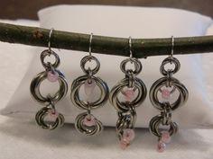 Chain-mail Earrings