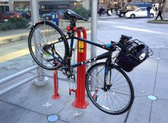 Public bike work station and pump downtown #Seattle