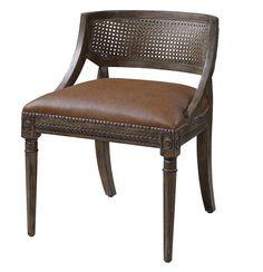Uttermost Asark Armless Chair - 23122
